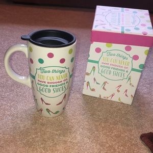Other - New ceramic mug with gift box